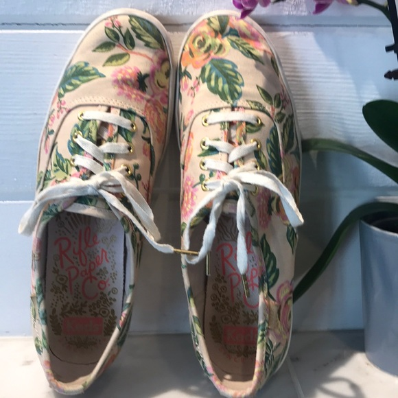 Keds Shoes - Ked's Rifle Paper Co. Champion Floral Sneaker 7.5